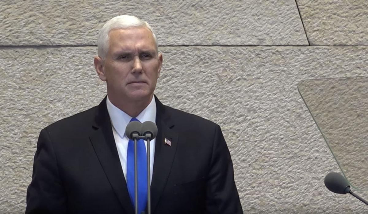 VP Mike Pence Knesset Speech