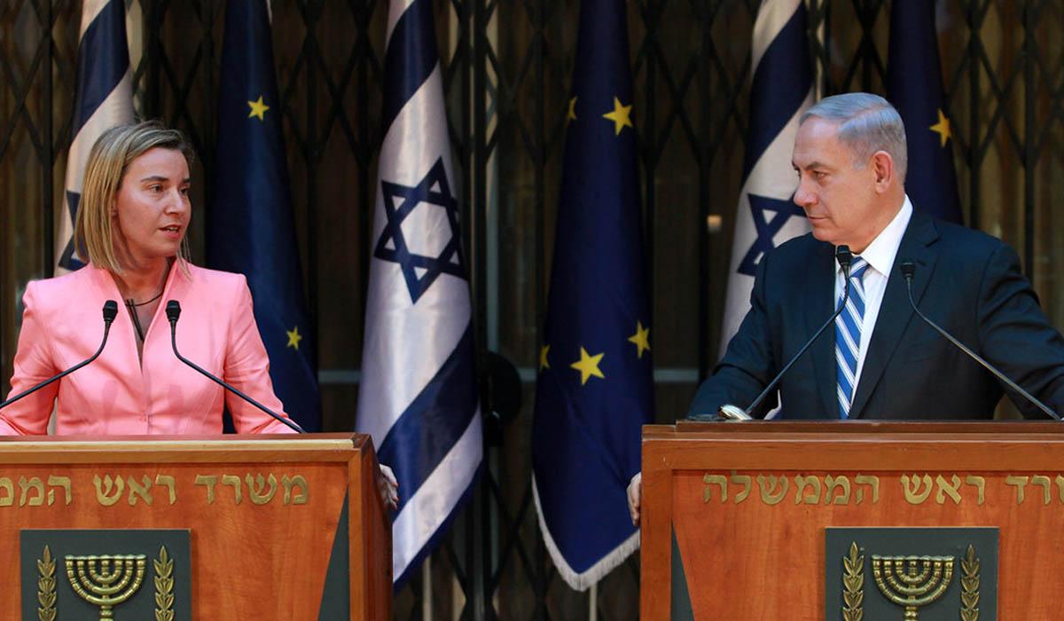 Netanyahu und Mogherini